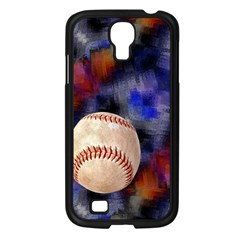 Baseball Samsung Galaxy S4 I9500/ I9505 Case (Black)