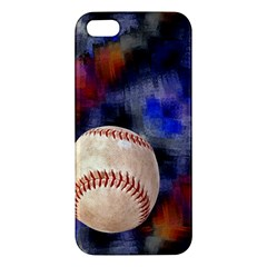 Baseball iPhone 5S Premium Hardshell Case