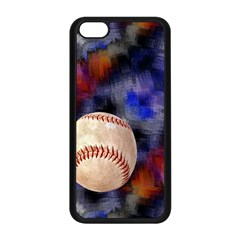 Baseball Apple iPhone 5C Seamless Case (Black)
