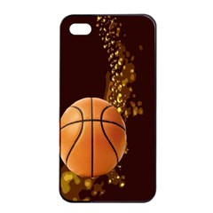 basketball Apple iPhone 4/4s Seamless Case (Black)