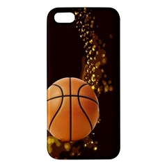 basketball iPhone 5S Premium Hardshell Case