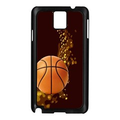 basketball Samsung Galaxy Note 3 N9005 Case (Black)