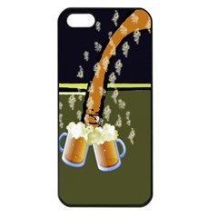 Beer Lover Apple iPhone 5 Seamless Case (Black)