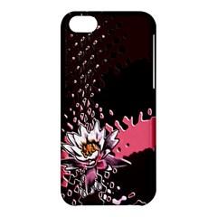 Flower Apple iPhone 5C Hardshell Case