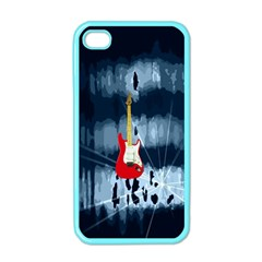 Guitar Apple Iphone 4 Case (color)
