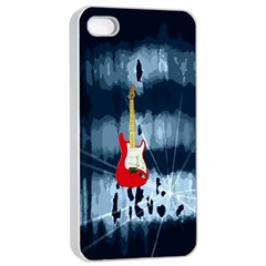 Guitar Apple iPhone 4/4s Seamless Case (White)