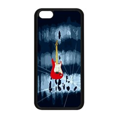 Guitar Apple iPhone 5C Seamless Case (Black)