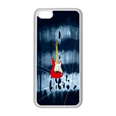 Guitar Apple Iphone 5c Seamless Case (white)