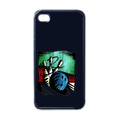 Bowling Apple iPhone 4 Case (Black)