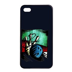Bowling Apple iPhone 4/4s Seamless Case (Black)