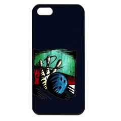 Bowling Apple iPhone 5 Seamless Case (Black)