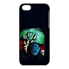 Bowling Apple iPhone 5C Hardshell Case