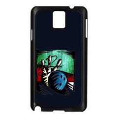 Bowling Samsung Galaxy Note 3 N9005 Case (Black)