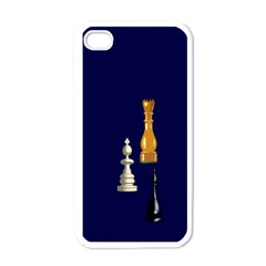 Chess Apple Iphone 4 Case (white)