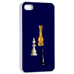 Chess Apple Iphone 4/4s Seamless Case (white)