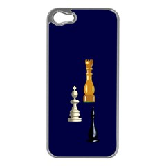 Chess Apple iPhone 5 Case (Silver)