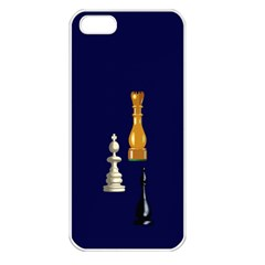 Chess Apple iPhone 5 Seamless Case (White)