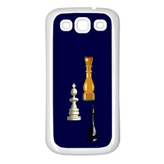 Chess Samsung Galaxy S3 Back Case (white)