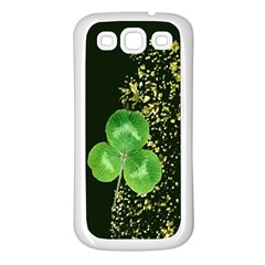 Clover Samsung Galaxy S3 Back Case (White)