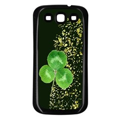 Clover Samsung Galaxy S3 Back Case (Black)