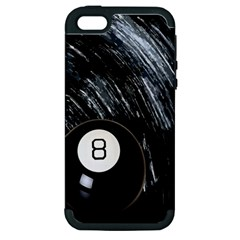 Eight Ball Apple Iphone 5 Hardshell Case (pc+silicone)