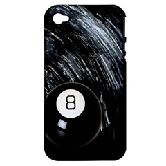 Eight Ball Apple Iphone 4/4s Hardshell Case (pc+silicone)