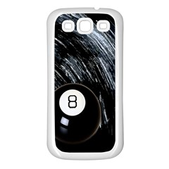Eight Ball Samsung Galaxy S3 Back Case (White)