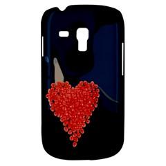 Petal Heart Samsung Galaxy S3 MINI I8190 Hardshell Case