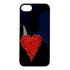 Petal Heart Apple iPhone 5S Hardshell Case