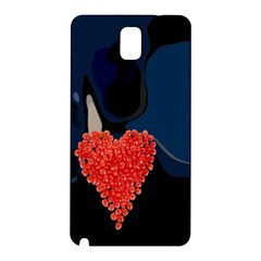 Petal Heart Samsung Galaxy Note 3 N9005 Hardshell Back Case