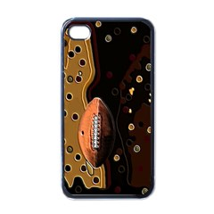 Football Apple Iphone 4 Case (black)