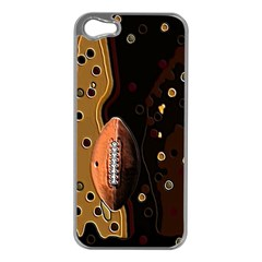 Football Apple Iphone 5 Case (silver)
