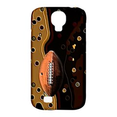 Football Samsung Galaxy S4 Classic Hardshell Case (pc+silicone)