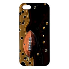 Football iPhone 5S Premium Hardshell Case