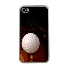 Golfball Apple iPhone 4 Case (Clear)