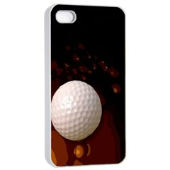 Golfball Apple iPhone 4/4s Seamless Case (White)
