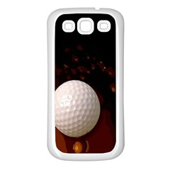 Golfball Samsung Galaxy S3 Back Case (White)