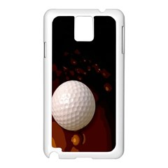 Golfball Samsung Galaxy Note 3 N9005 Case (White)