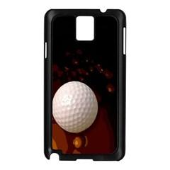 Golfball Samsung Galaxy Note 3 N9005 Case (Black)