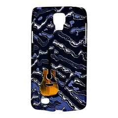 Sound Waves Samsung Galaxy S4 Active (I9295) Hardshell Case