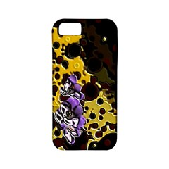 Violet Apple iPhone 5 Classic Hardshell Case (PC+Silicone)