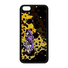 Violet Apple Iphone 5c Seamless Case (black)