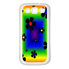 Mod Hippy Samsung Galaxy S3 Back Case (White)