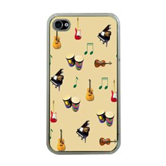 Music Apple Iphone 4 Case (clear)