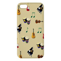 Music iPhone 5S Premium Hardshell Case