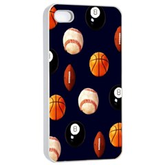 Sports Apple iPhone 4/4s Seamless Case (White)