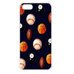 Sports Apple Iphone 5 Seamless Case (white)
