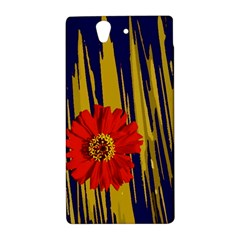 Red Flower Sony Xperia Z (L36H) Hardshell Case