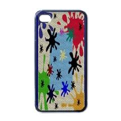 Paint Splatters Apple Iphone 4 Case (black)