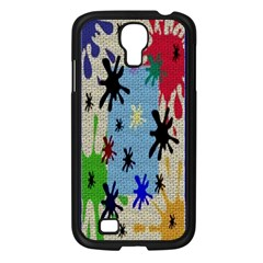Paint Splatters Samsung Galaxy S4 I9500/ I9505 Case (Black)